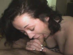 Brunette Amateur Sucking...