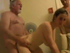 Two Swinging couples having...
