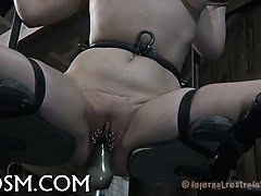 Stuffing awesome gal with...