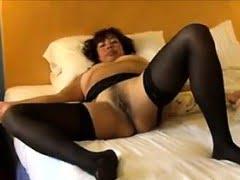 Mature Slut Wearing Black...
