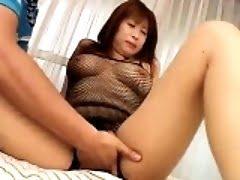 Monami shows off her big...