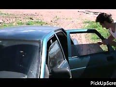 Slutty pickup blond getting...