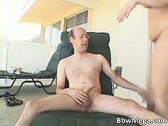 Nasty fatty brunette slut...