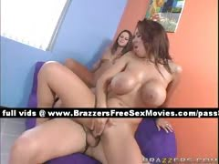 Two busty redhead girls